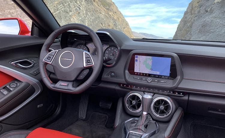2019 Chevrolet Camaro Red Front Exterior