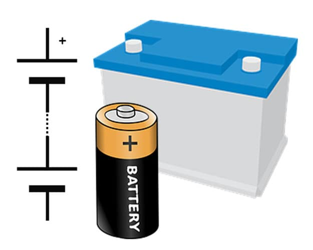 Battery signs of wear