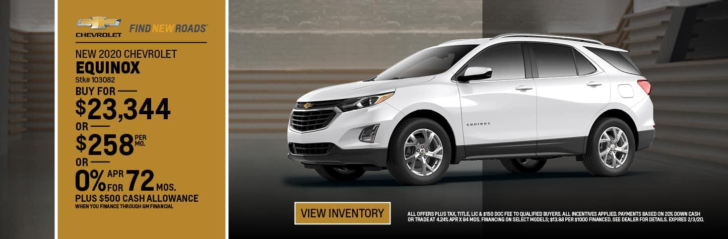 New 2020 Chevrolet Equinox