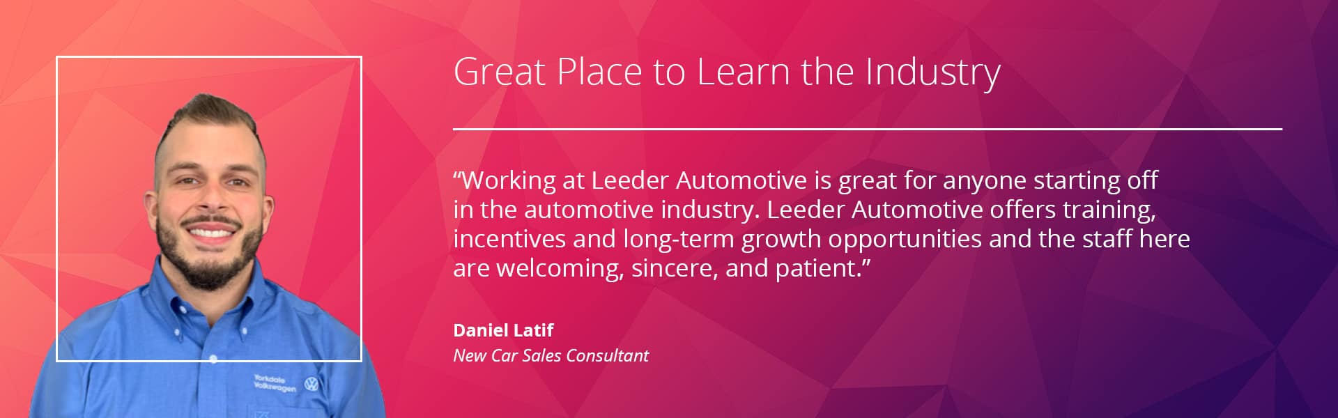 Career Opportunities Leeder Automotive