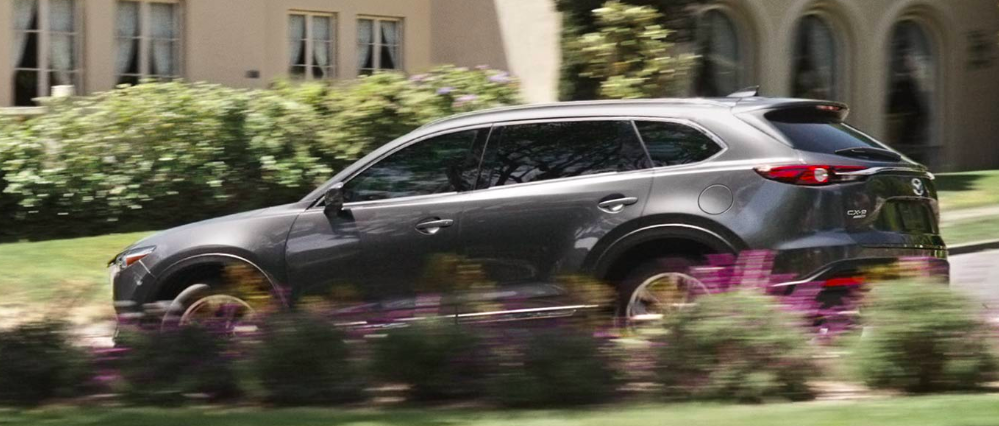 2019 Mazda CX-9 Driving on Road