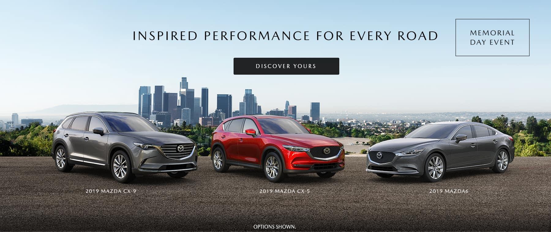 Mazda Memorial Day Event at Liberty Mazda