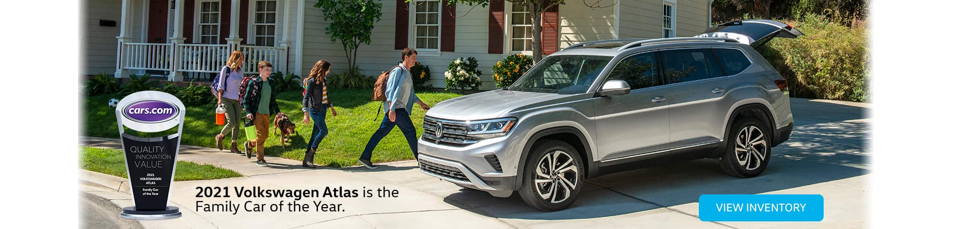 2021 Volkswagen Atlas is the Family Car of the Year
