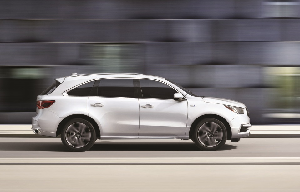 2019 Acura MDX in White