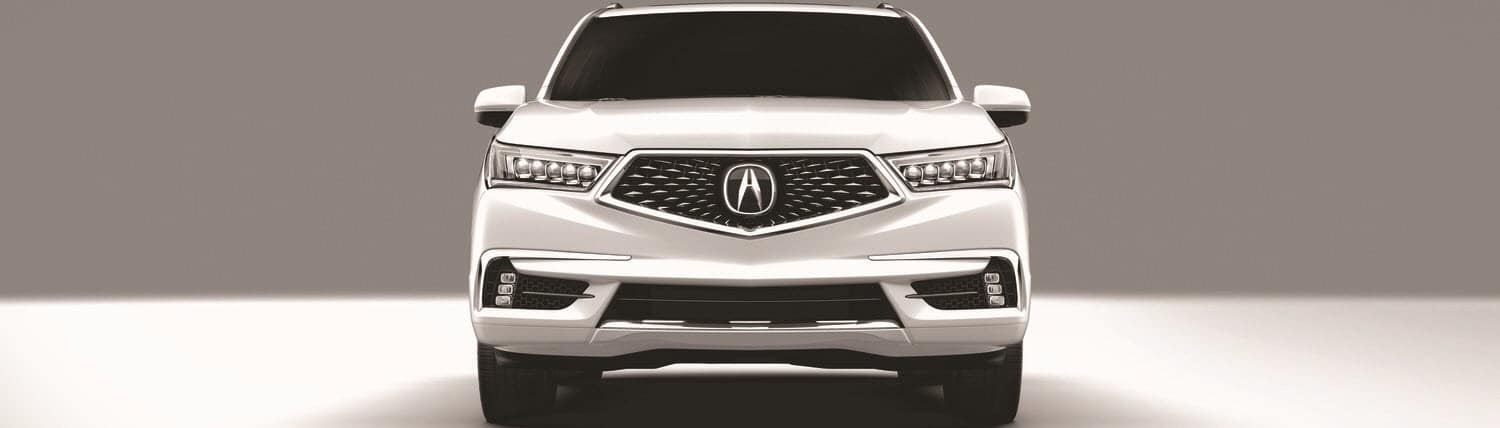 Acura MDX in White