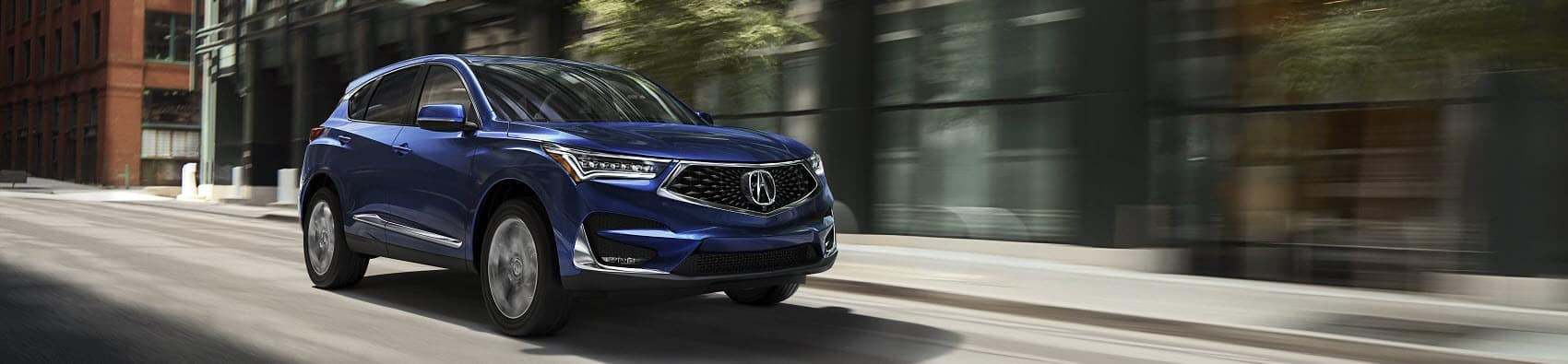 Acura RDX in Blue