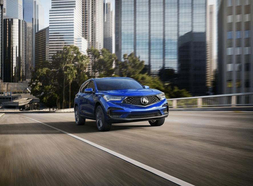 Acura RDX Driving