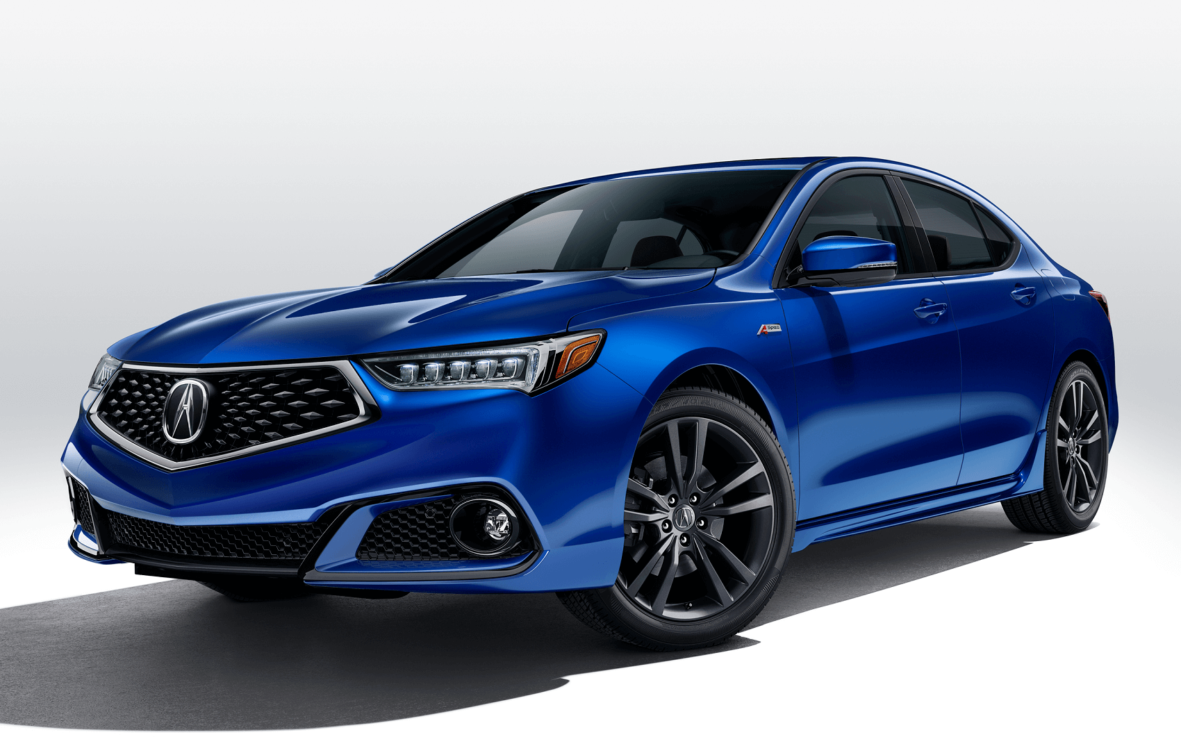 2020 Acura TLX in Blue