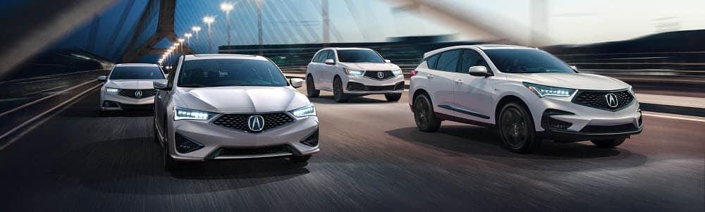 Multiple Acura Models