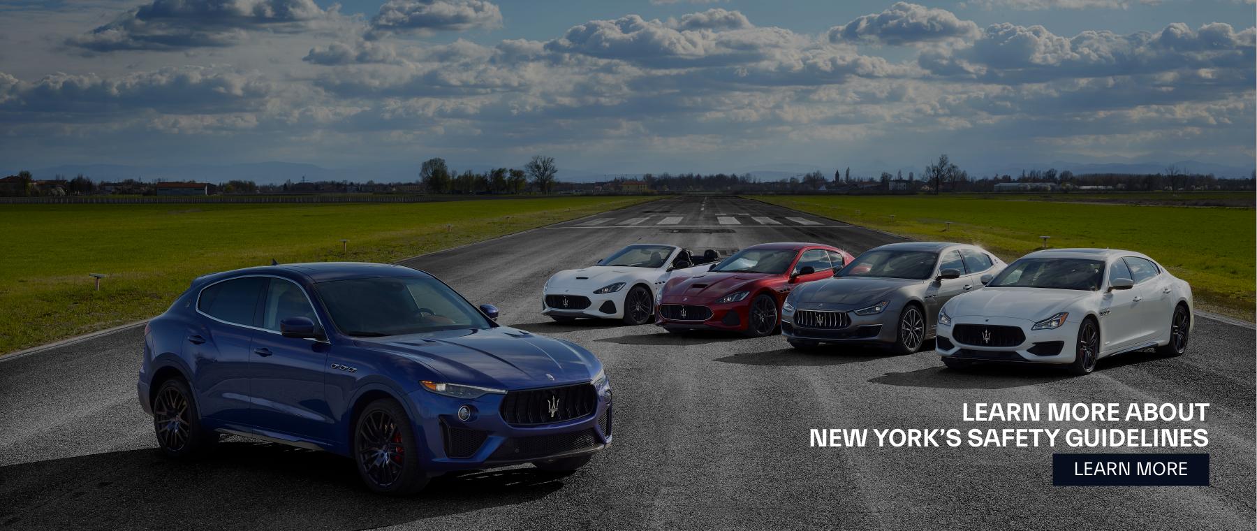 Maserati of Manhattan – updated COVID banner