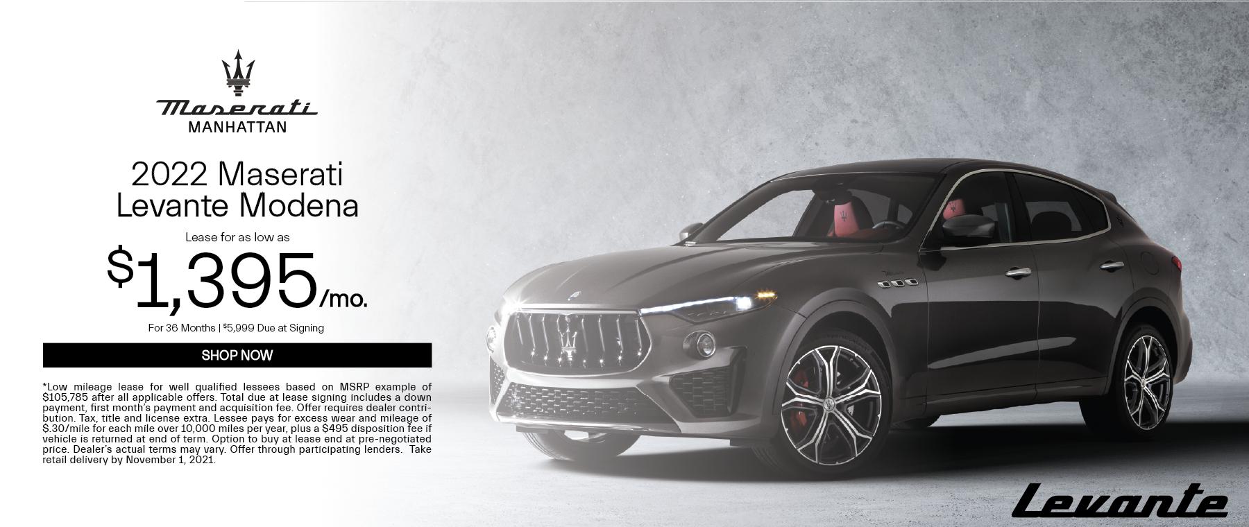 2022 Maserati Levante Modena
