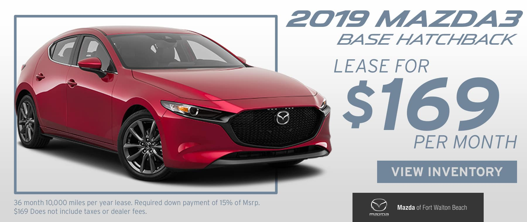 2019 Mazda3 Base Hatchback Offer