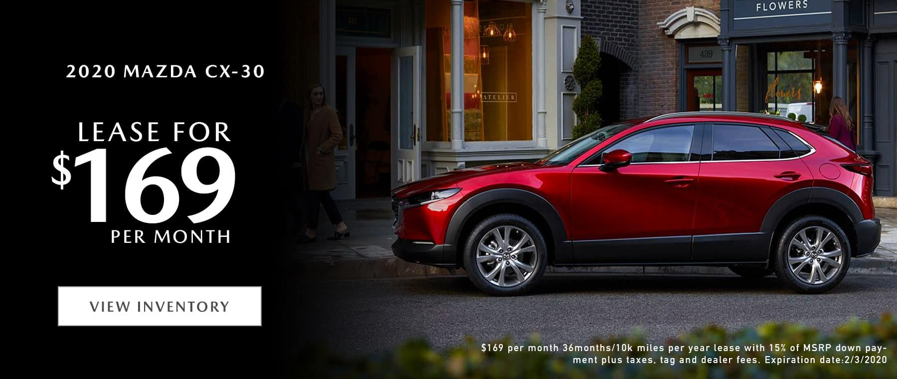 2020 Mazda CX-30 Lease Offer | Mazda of Fort Walton Beach