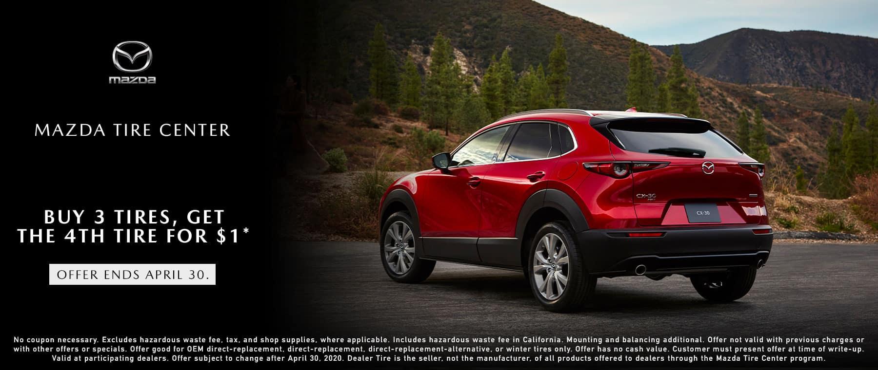 Mazda Tire Event