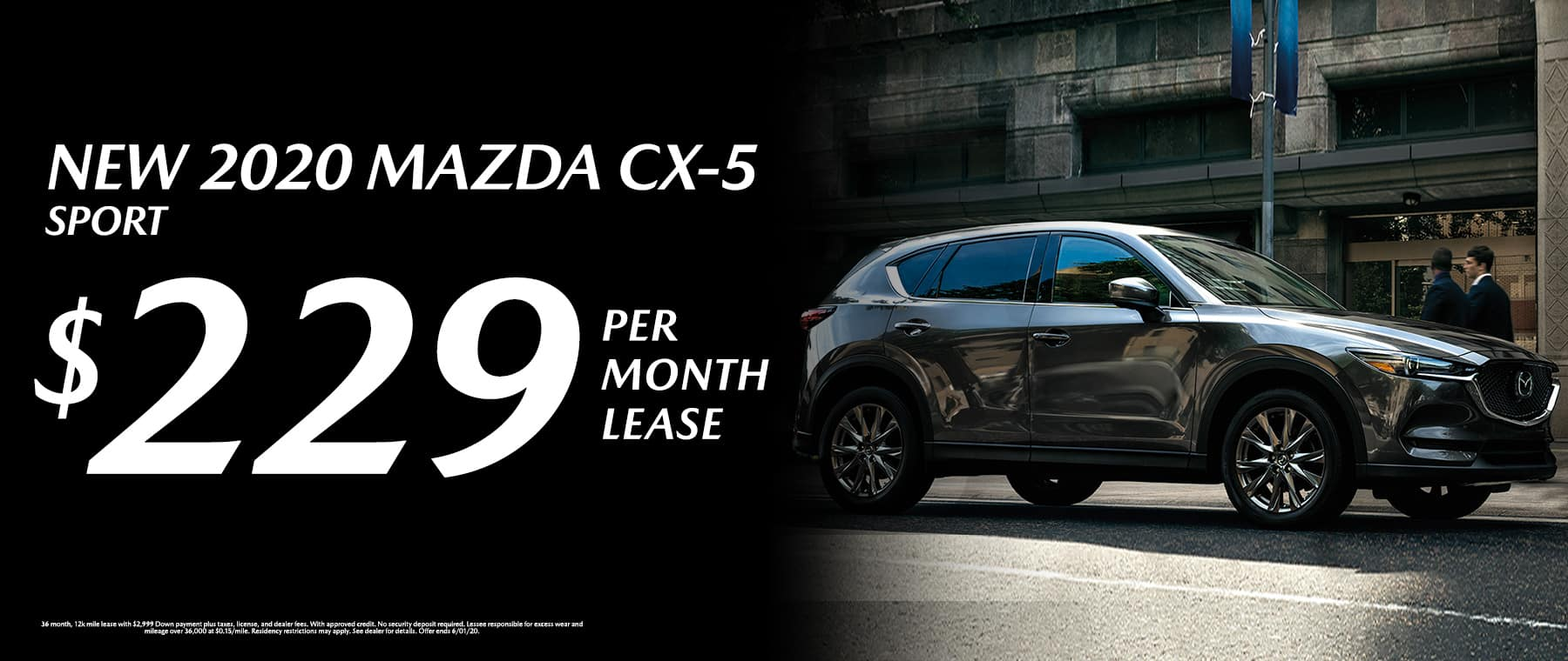 New 2020 Mazda CX-5 Sport at Mazda of Fort Walton Beach