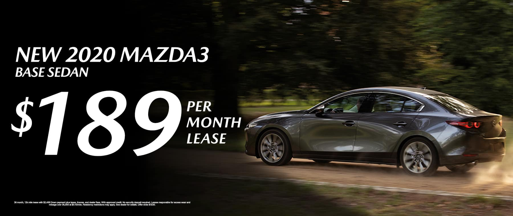 New 2020 Mazda3 Base Sedan at Mazda of Fort Walton Beach