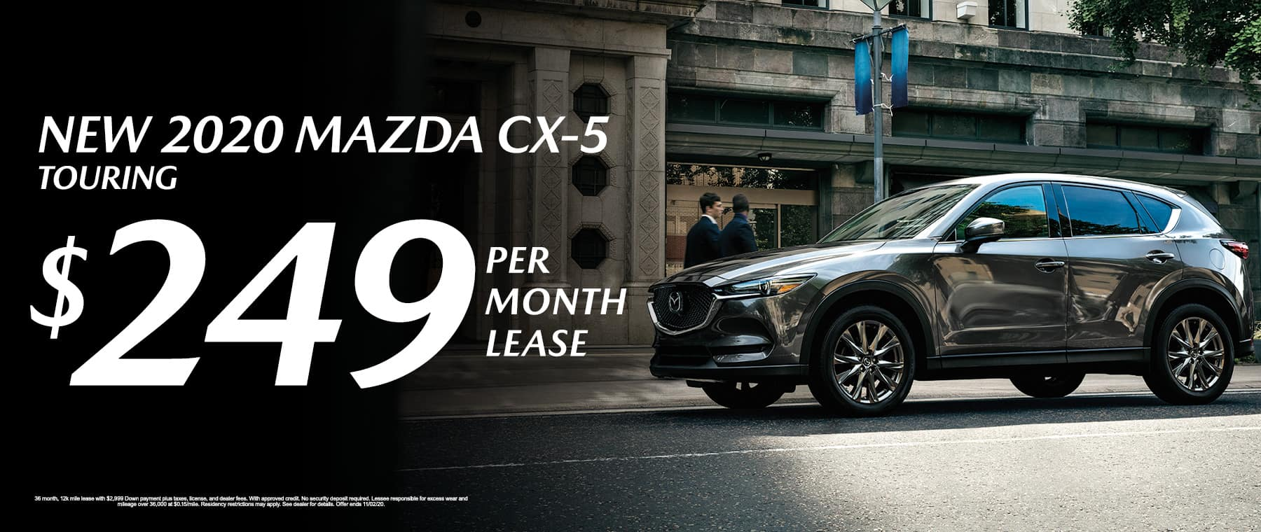 Lease a New 2020 Mazda CX-5 Touring for $249/mo at Mazda of Fort Walton Beach
