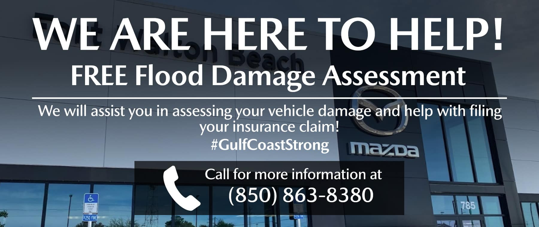 Free Flood Damage Assessment at Mazda of Fort Walton Beach