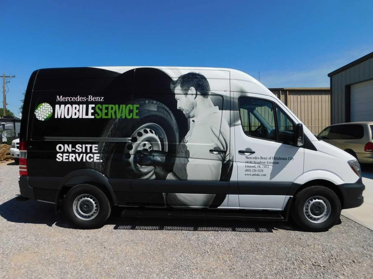 Mobile Service for Mercedes-Benz Vehicles in Oklahoma City