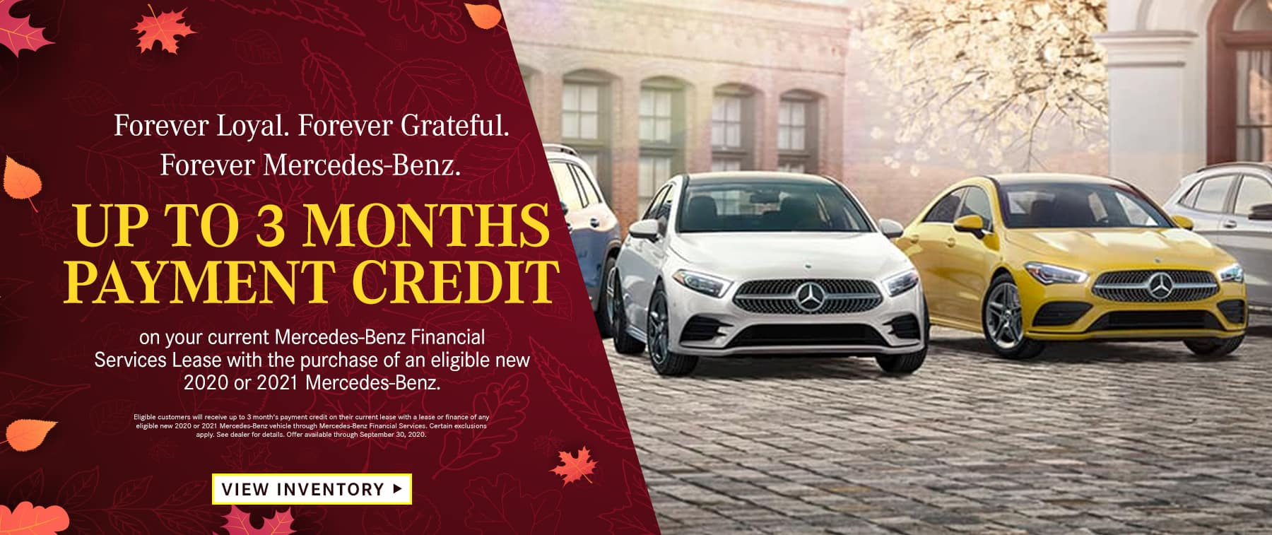 Up to 3 Months Payment Credit