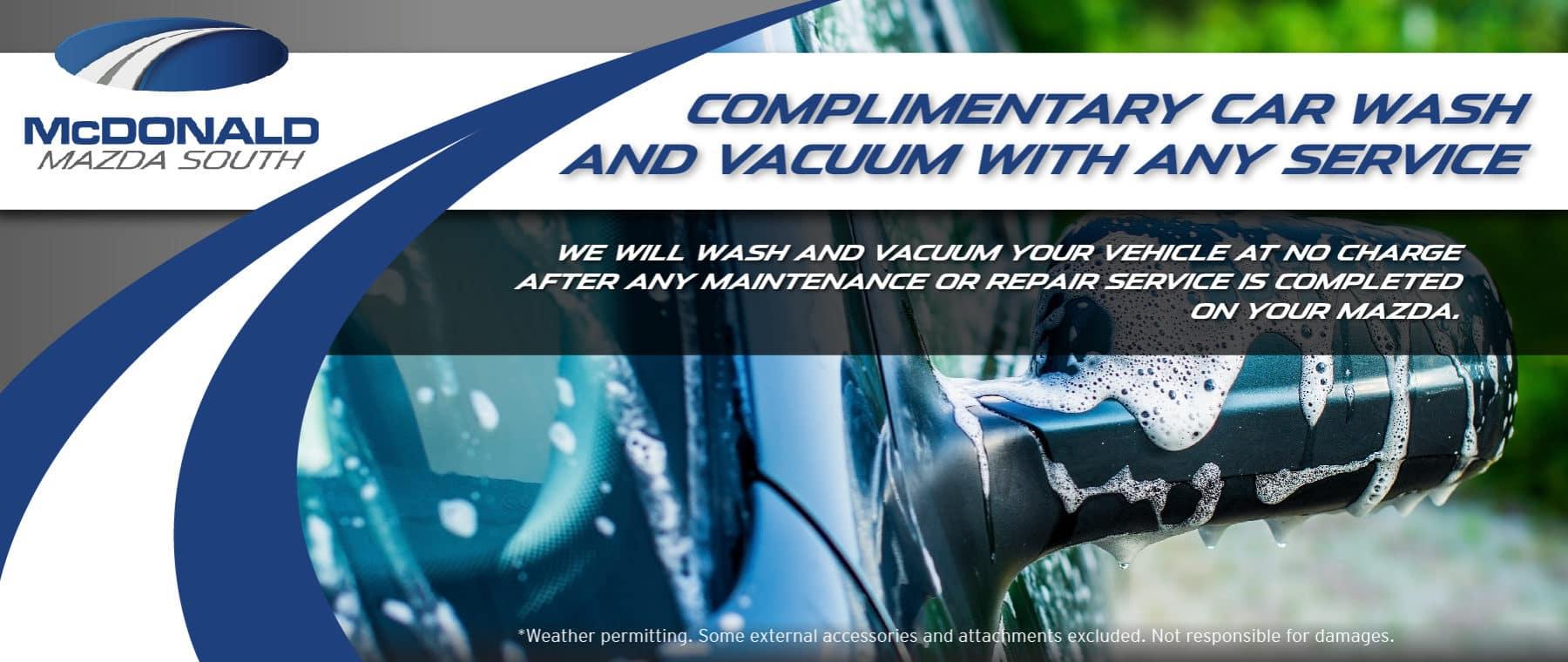 Wash and Vacuum