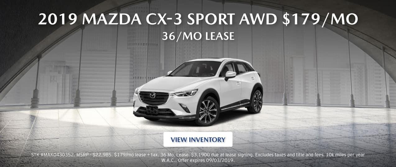 2019 Mazda CS-3 Sport AWD