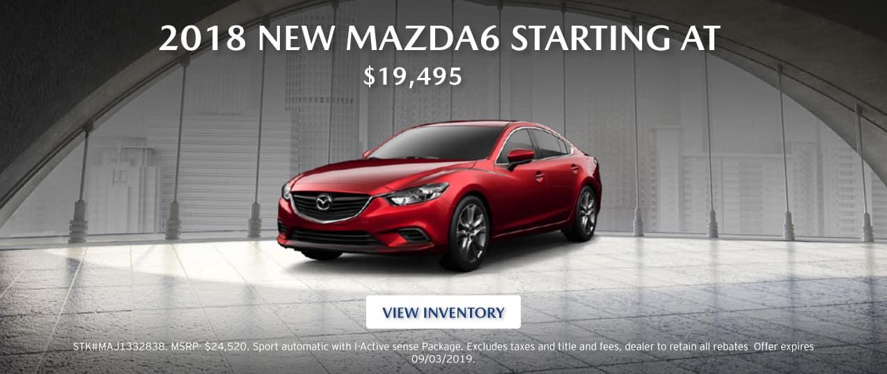 2018 New Mazda6