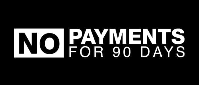 0% APR for 63 Months + $1,000 APR Cash + No Payments for 90 Days