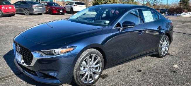 New 2021 Mazda3 Premium With Navigation & AWD
