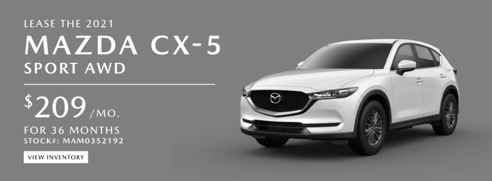 CX-5 Lease Specials