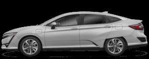 Silver Honda Clarity Plug-In Hybrid