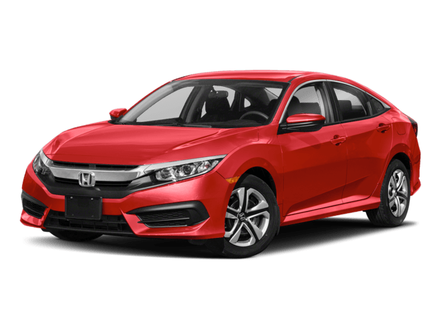 New 2018 Honda Civic LX Sedan Auto