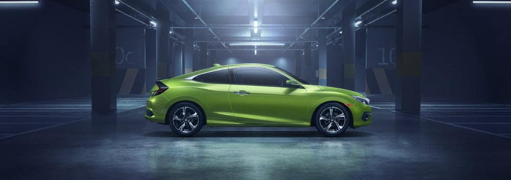 2018 Honda Civic Green