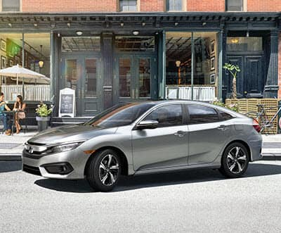 2018 Honda Civic Lunar Silver Metallic