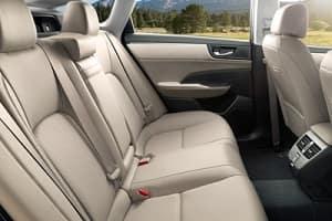 2018 Honda Clarity Interior Space