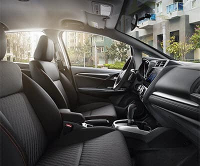 2019 Honda Fit Interior Black