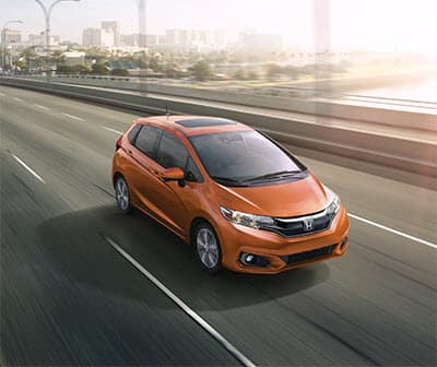 2019 Honda Fit Fury Orange
