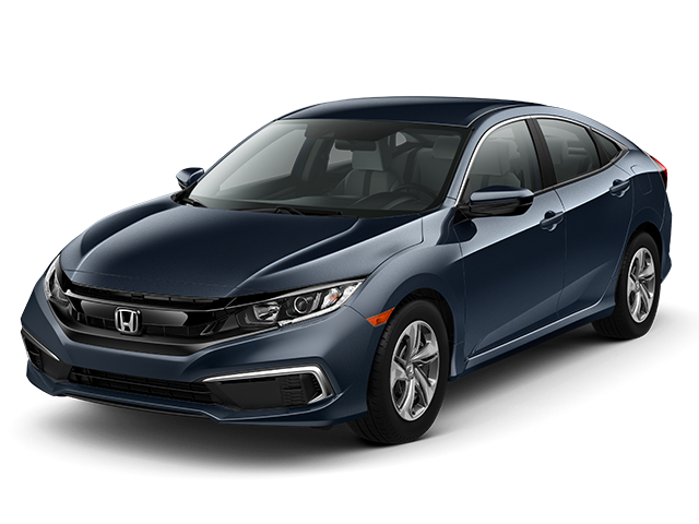 New 2019 Honda Civic LX Sedan Auto