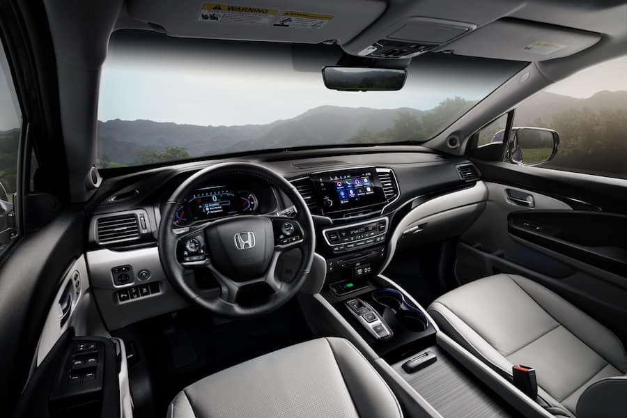 2019 Honda Pilot Interior Technology