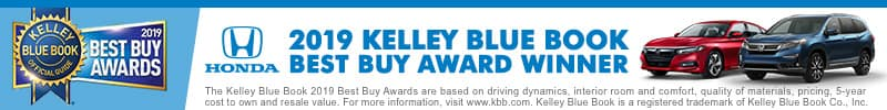 KBB Awards Honda West Covina