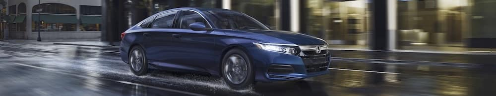 2019 Blue Honda Accord