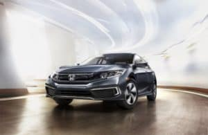 Gray 2019 Honda Civic Review
