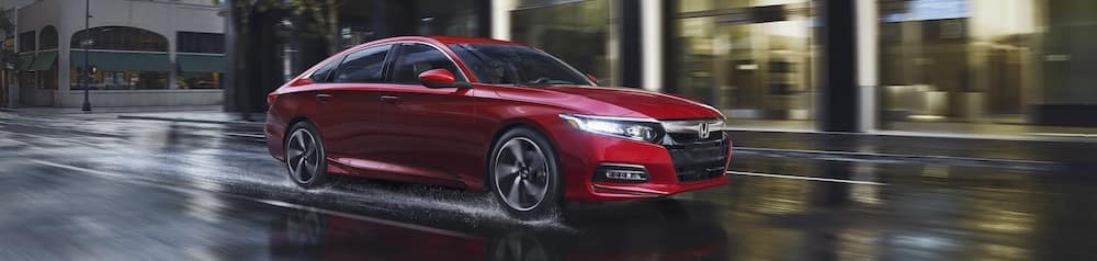 Red 2019 Honda Accord Sedan
