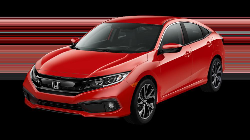 2020 Honda Civic Matte Red