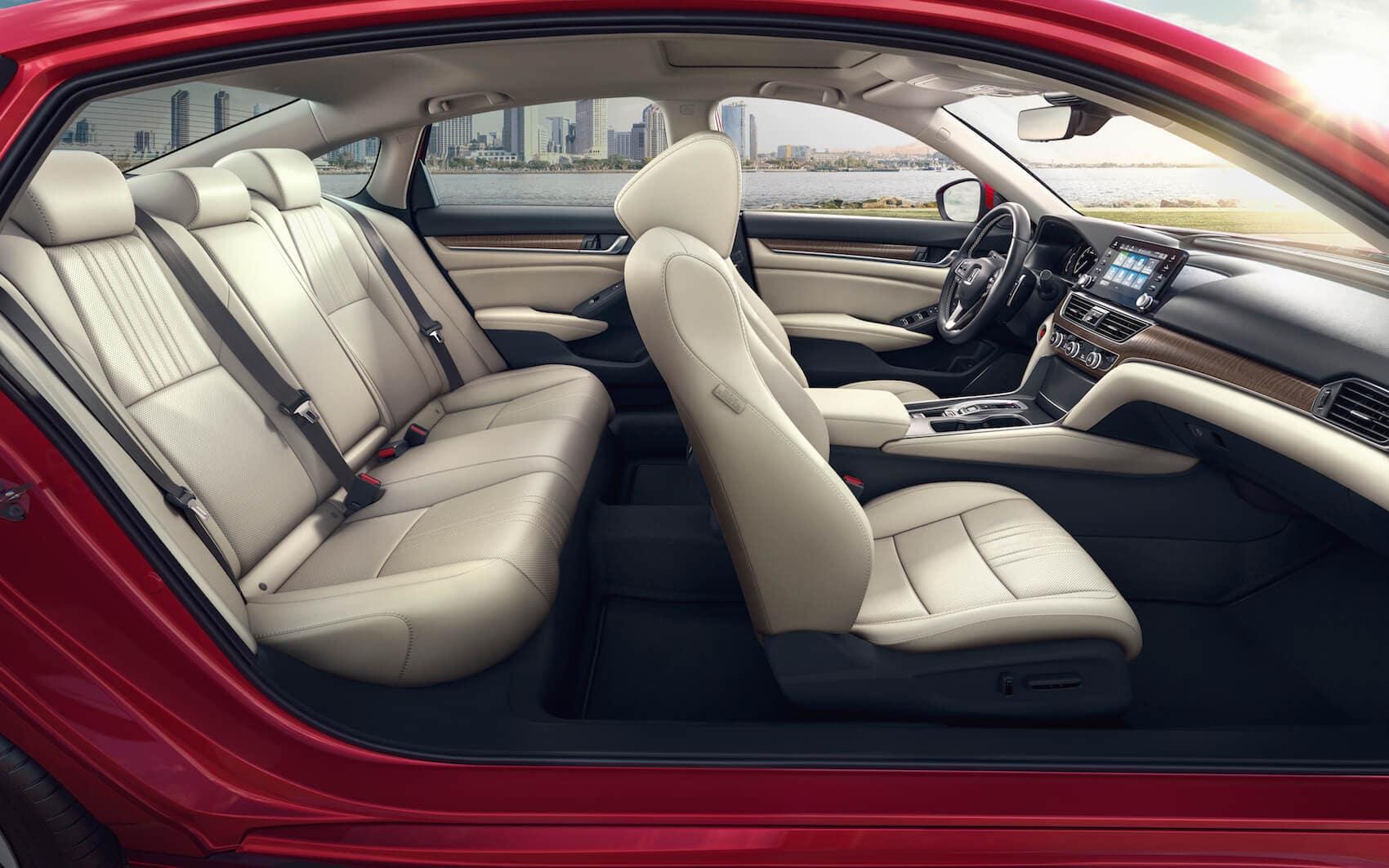 Honda Accord customized interior