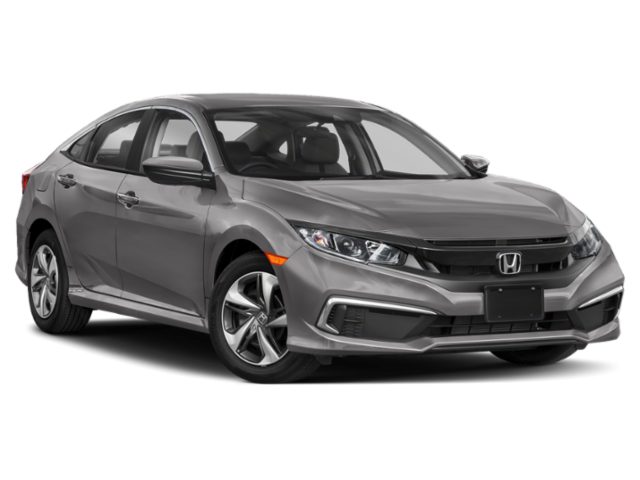New 2021 Honda Civic LX Sedan Auto