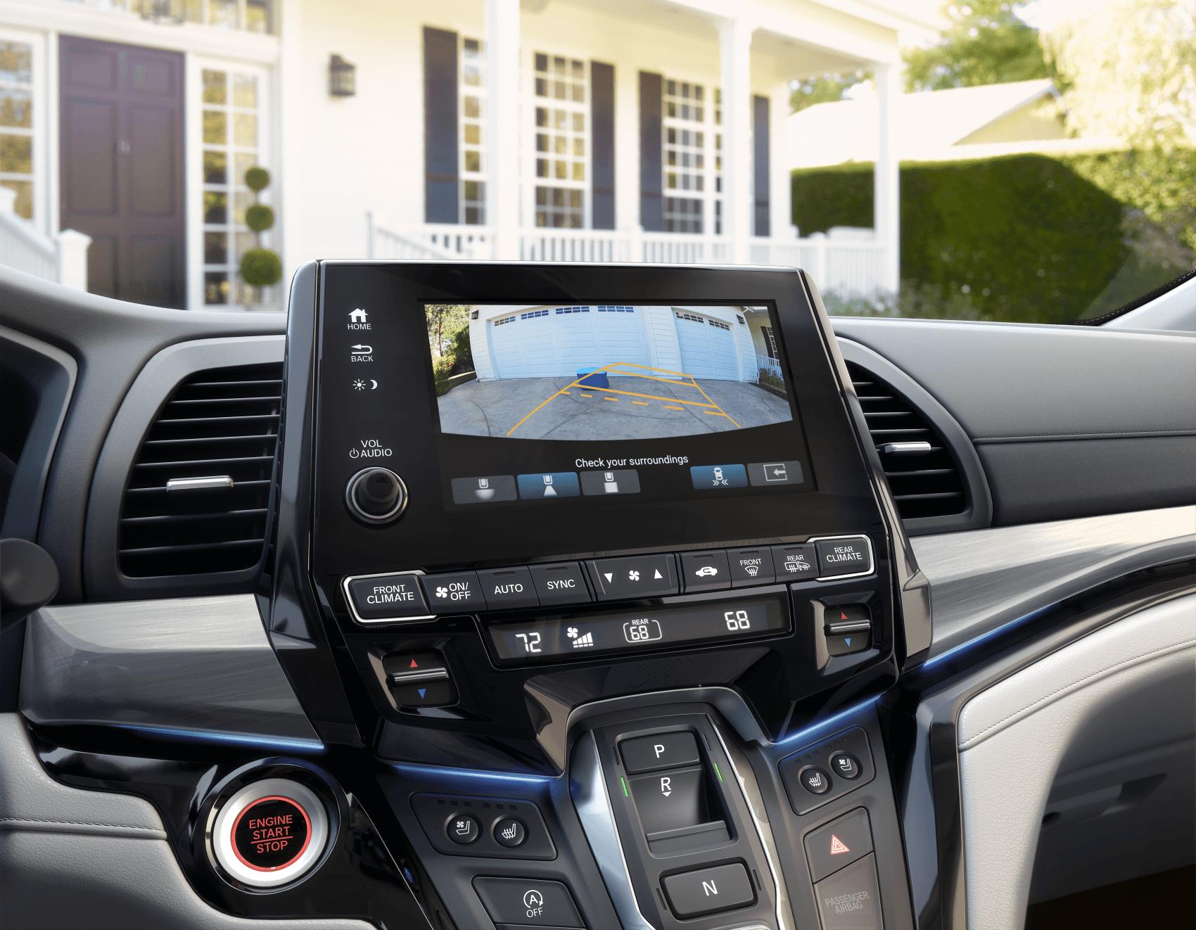2021 Honda Odyssey Interior Safety Multi-Angle Rearview Camera