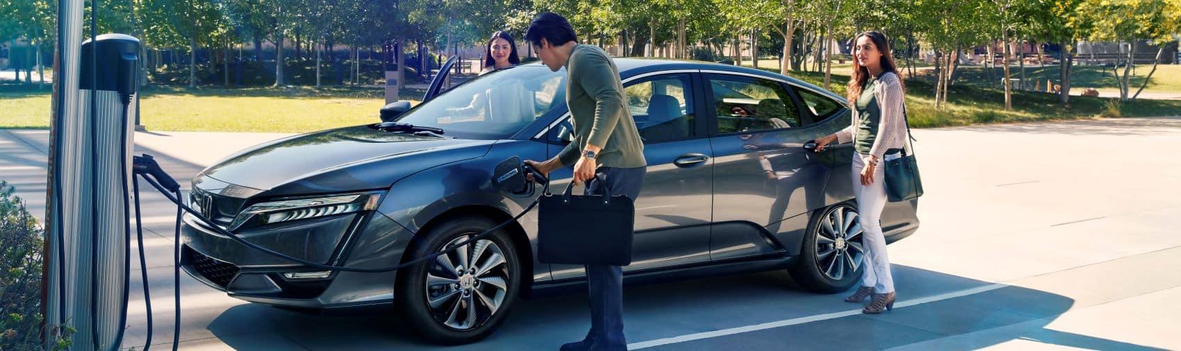 Honda Clarity EV charging