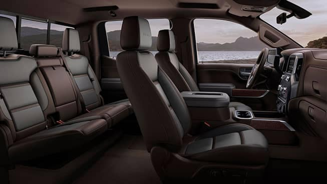 2020 GMC Sierra 1500 Seating