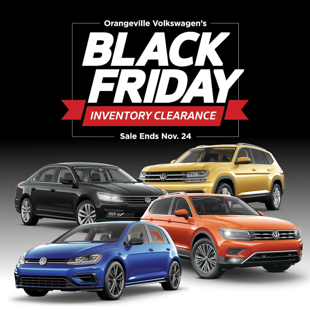 Black Friday Inventory Clearance Event